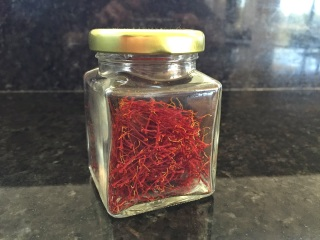 Jar of saffron