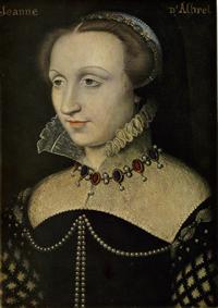 Jeanne d'Albret, 1550