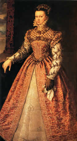 Isabel Valois, Queen of Spain, 1565