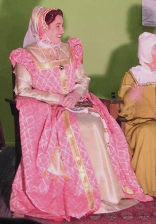 """Pink dress """"Queenie"""""""