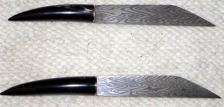 Two smaller seaxes