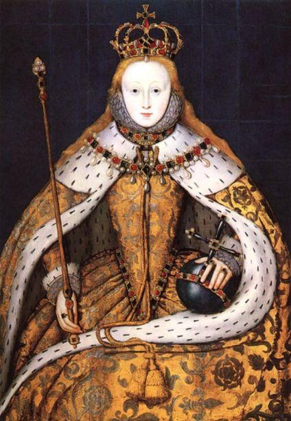 Elizabeth's coronation portrait C. 1600