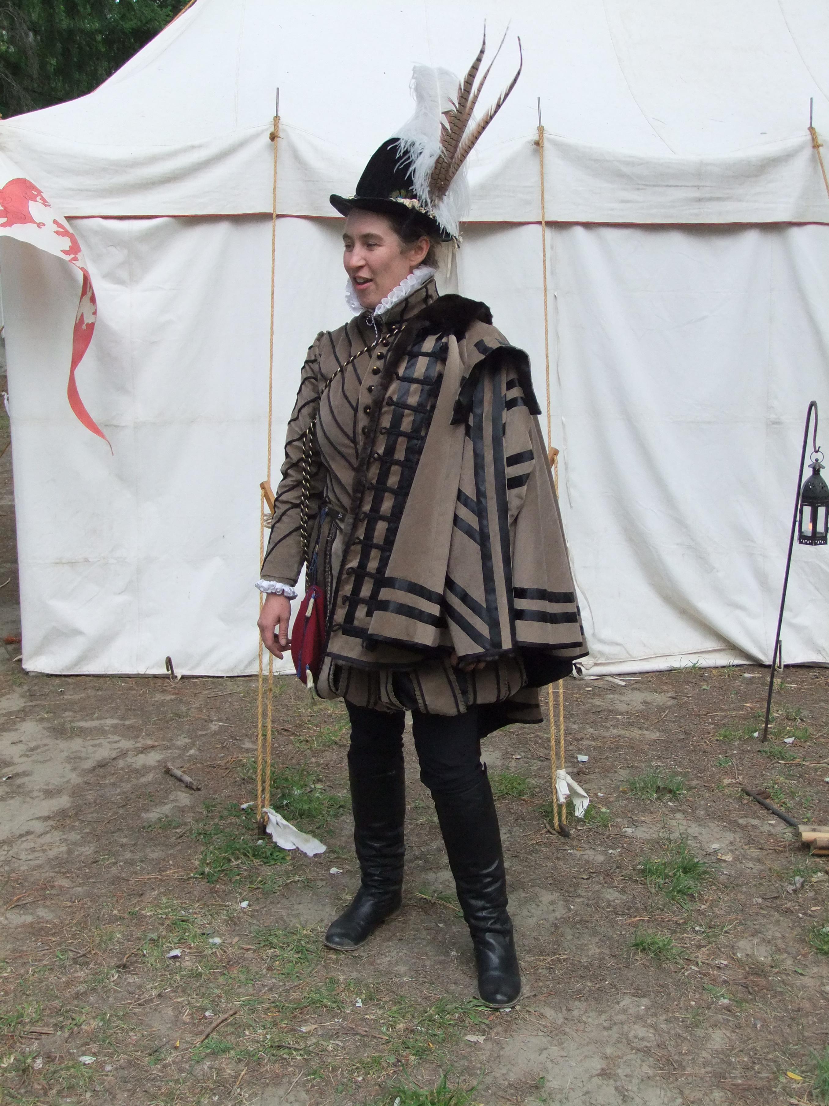 Elizabethan men's outfit