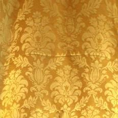 Gold damask cloth