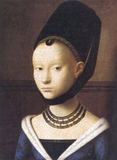 Portrait of a Lady, Petrus Christus, 1470