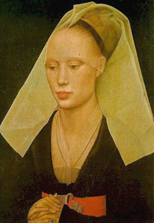 Portrait of a Lady, van der Weyden, 1450
