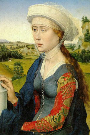 Mary Magdalene, Rogier van der Weyden, 1450-2