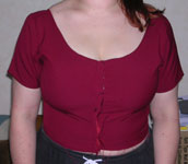 Bodice fitting front