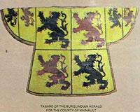 Tabard - Hainault arms