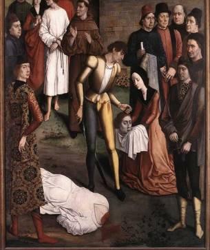 Justice of Emperor Otto, Dirk Bouts, 1470-5