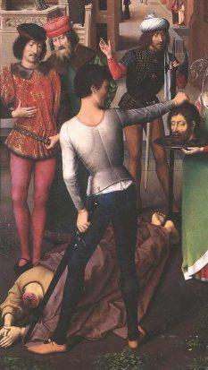Beheading of St John, Hans Memling, 1474-9