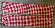 Hand woven scarves, 2018