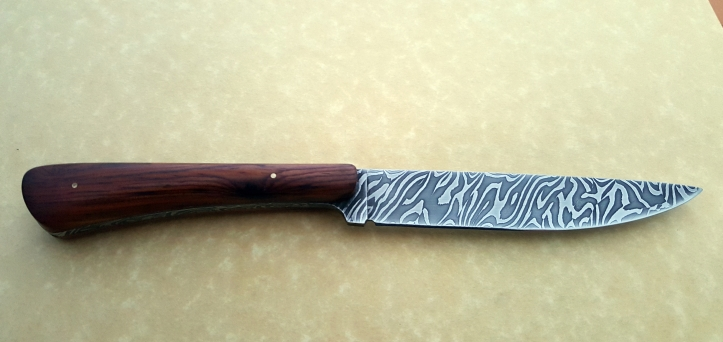 Small eating knife, completed July 2019