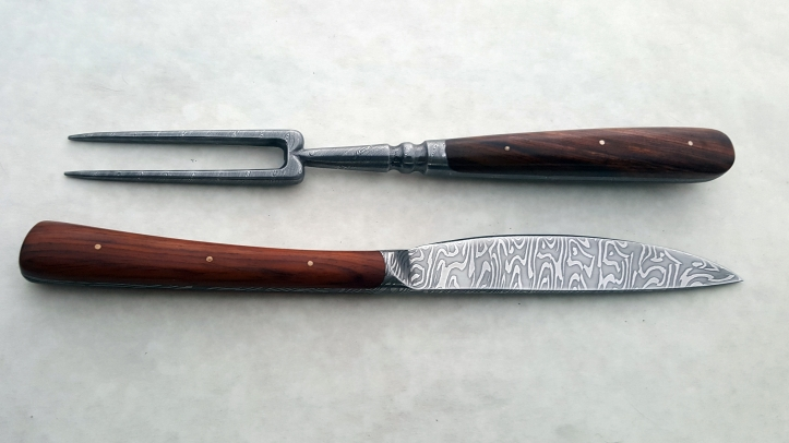 Knife and fork set, 2019