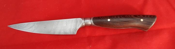 Heavy Paring Knife 220 mm OL handle Wenge
